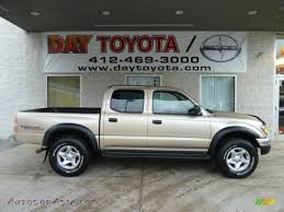 2002 Toyota Tacoma V6 TRD Double Cab 4x4 in Mystic Gold Metallic ...