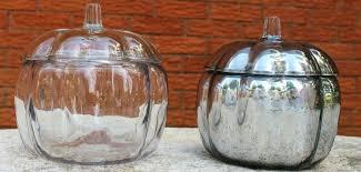 clear glass pumpkins mercury glass pumpkins small clear glass pumpkins