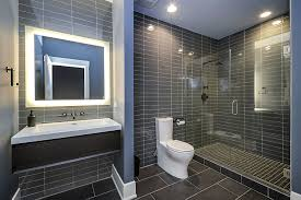 Sidd  Nishas Hall Bathroom Remodel Pictures Home Remodeling - Basement bathroom remodel