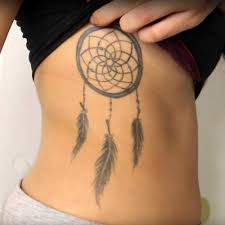 Dream Catcher Tattoo On Side 100 Celebrity Dreamcatcher Tattoos Steal Her Style 8