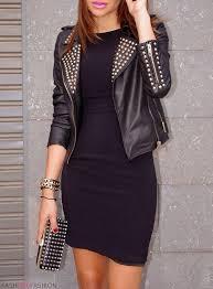 jacket studded leather jacket