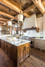 rustic cabin kitchens. Cabin Kitchen Island Rustic Kitchens With West Elm
