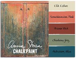 COLORWAYS An old Jelly Cabinet in worn Annie Sloan Chalk Paint colors