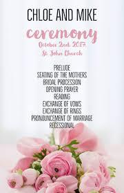 Wedding Program Designs Make Custom Wedding Programs For Free Adobe Spark