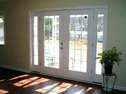 french doors with built in blinds and screens with andersen french patio doors with screens with