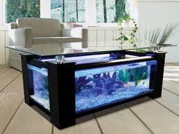 Aquarium Glass Coffee Table
