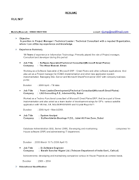 Detailed Resume Beauteous Detailed Resume
