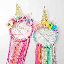 Dream Catchers How To Make Them Inspiration DIY UNICORN DREAMCATCHER