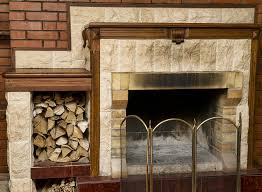 How To Clean A Fireplace Firebox Friday Five  The DIY BungalowHow To Clean Brick Fireplace