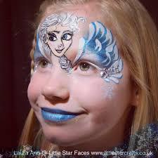 frozen elsa face paint little star faces professional face painting art face paint