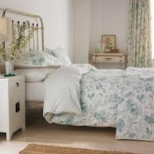 Toile Bedding | Pilemont Aqua Duvet Covers by Sanderson at Bedeck ... & Toile Bedding | Pilemont Aqua Duvet Covers by Sanderson at Bedeck Home Adamdwight.com
