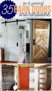 Double Shed Door Design Remodelaholic 35 Diy Barn Doors Rolling Door Hardware Ideas