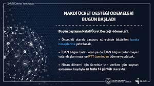 """İŞKUR on Twitter: """"Nakdi ücret desteği ödemeleri bugün başladı...… """""""