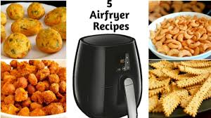 5 airfryer snacks recipes tea time