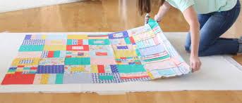 How to Spray Baste a Quilt | Cluck Cluck Sew & Spray Basting Tutorial Adamdwight.com