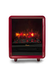 Ignis Tectum Mini Red Freestanding Ventless Ethanol Fireplace FSF Mini Fireplace