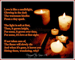Light A Candle In Memory Poem Candle Lighting Poems