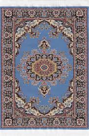 medium size l blue turkish carpet