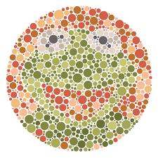 Resultado de imagen de red green colorblind test