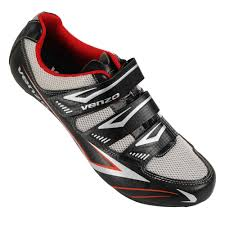 Venzo Road Bike For Shimano Spd Sl Look Cycling Bicycle Shoes 44 5