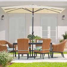 patio furniture with umbrella. Brilliant Patio Rectangular Umbrellas Throughout Patio Furniture With Umbrella I