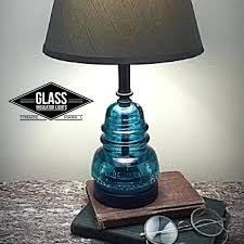glass insulator lights glass insulator lamp insulator lamp glass insulator table glass insulator diy glass insulator lights