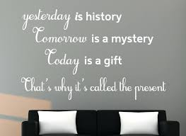 get creative studios wall decals india decoration yesterday is history decal es kids room stunning