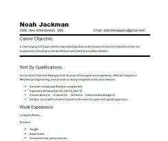 Career Objective Sample Resume Resume Objectives Samples Examples Of