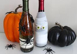 Wine Bottle Decorations Handmade DIY Halloween Wine Bottle Centerpieces YouTube 82