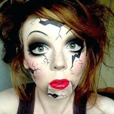 creepy doll costume great makeup for creepy doll costume creepy doll makeup creepy dolls broken