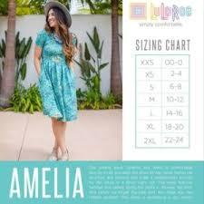 Lularoe Amelia Dress Size Small Pink And Black