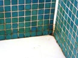 cleaning dirty bathroom tiles