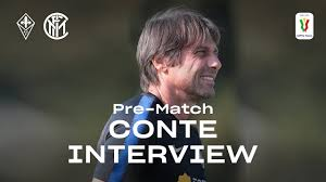 FIORENTINA vs INTER | ANTONIO CONTE INTER TV EXCLUSIVE PRE-MATCH INTERVIEW  🎙⚫🔵 [SUB ENG] - YouTube