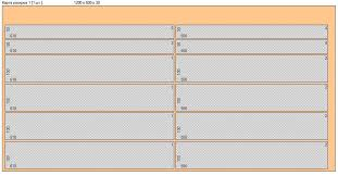 Раскрой листов пенополистирола для изготовления ППС улья Заметки  Карта раскроя улья из пенополистирола