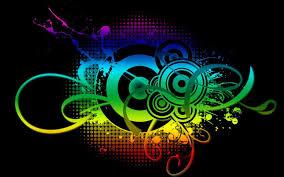 wallpaper desktop abstract music. Plain Music Abstract Art I Love Music Wallpaper 8816 Full HD Desktop  Intended A
