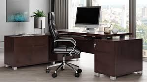 Modern reception desk set nobel office Design Ford Desk Dark Pinterest Zuri Furniture Contemporary Furniture Modern Furniture