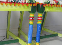 tropical painted furniture. delighful painted hand painted furniture art chair tropical colorful recycled wood for tropical painted furniture