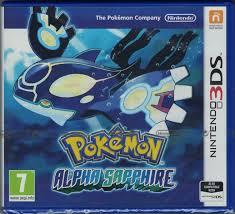 Pokemon Alpha Saphir deutsch EU PEGI Nintendo 3ds