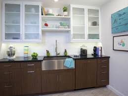 White Kitchen Cabinets With Black Countertops Best TwoToned Kitchen Cabinets Pictures Ideas From HGTV HGTV