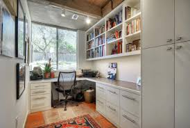 office cabinetry ideas. Small Home Office Wall Bookshelf Decor With White Cabinets And Glass Window Design Ideas Cabinetry E