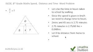 Speed Worksheet Math Worksheets Grade 6 Distance And Time Drills ...