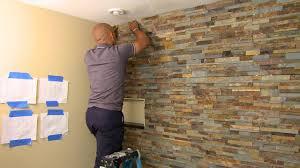 natural stone wall tiles living room at home