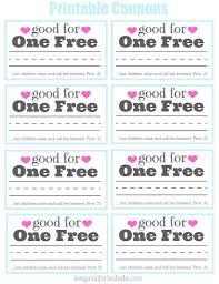 Coupon Book Template Printable Free Loan For Husband Wallgram Com