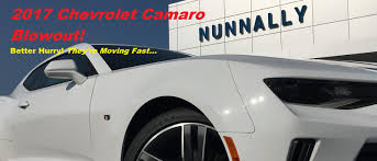 own every road you re on with a new 2017 chevrolet camaro from george nunnally