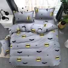 batman twin bedding cartoon stripe 3 sets bed set bedclothes for kids linen duvet cover sheet
