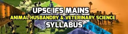Image result for CSE Animal Husbandry & Veterinary Science Syllabus