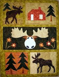 Moose Crossing ... by pgpeddler2634293 | Quilting Pattern ... & Moose Crossing Quilt Pattern by PGPeddler - Craftsy Adamdwight.com