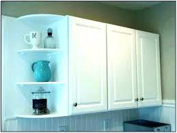 kitchen cabinet corner shelf rotating shelves cabinets open wall cor