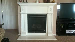 removing gas fireplace inspirational how to replace fireplace surround