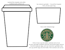27 Images Of Coffee Cup Template Printable Nategraynet